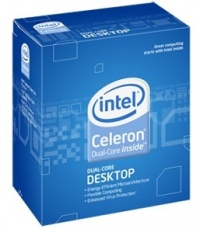INTEL cpu CELERON Dual-Core E1600 775 BOX 64 bit (2400/800/512)